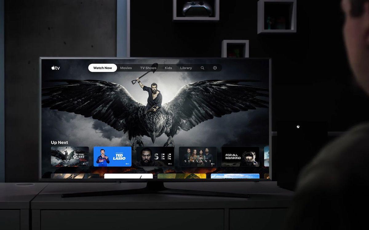 Apple TV sur Xbox Series X