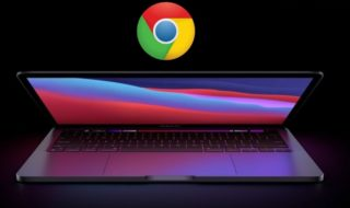 Google Chrome sur MacBook Apple Silicon M1