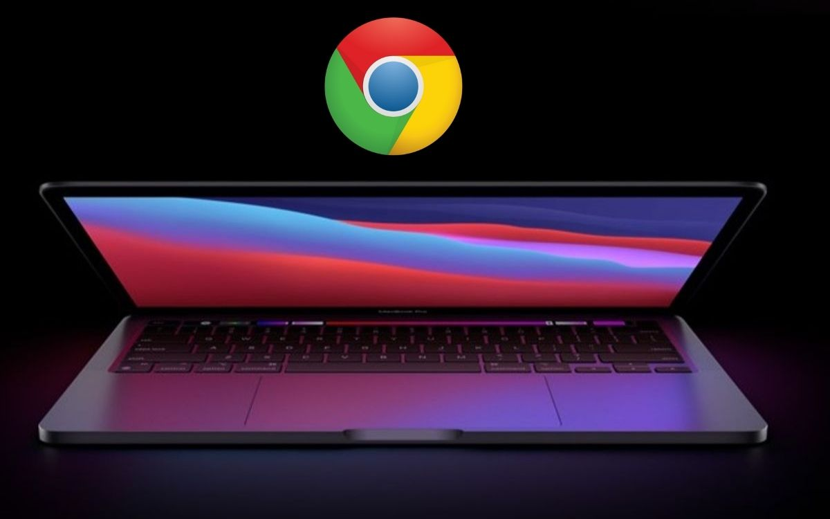 Google Chrome sur MacBook Apple Silicon M1
