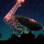 Green Bank Telescope, image PAUL KRANZLER AND ANDREW PHELPS