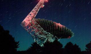 Green Bank Telescope, image PAUL KRANZLER AND ANDREW PHELPS