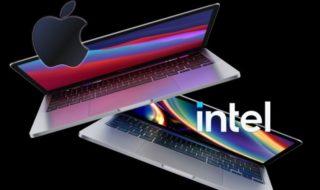 Apple Silicon : le MacBook Pro M1 surpasse largement le MacBook Pro Intel 2020