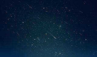 Pluie étoile filante Léonides