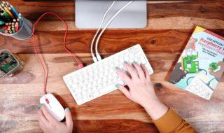 Raspberry Pi 400 : le nouveau « clavier-ordinateur » à la framboise coûte 75 €