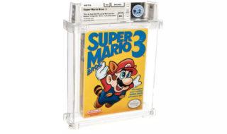Nintendo : une cartouche de Super Mario Bros. 3 vendue 132 000 € aux enchères