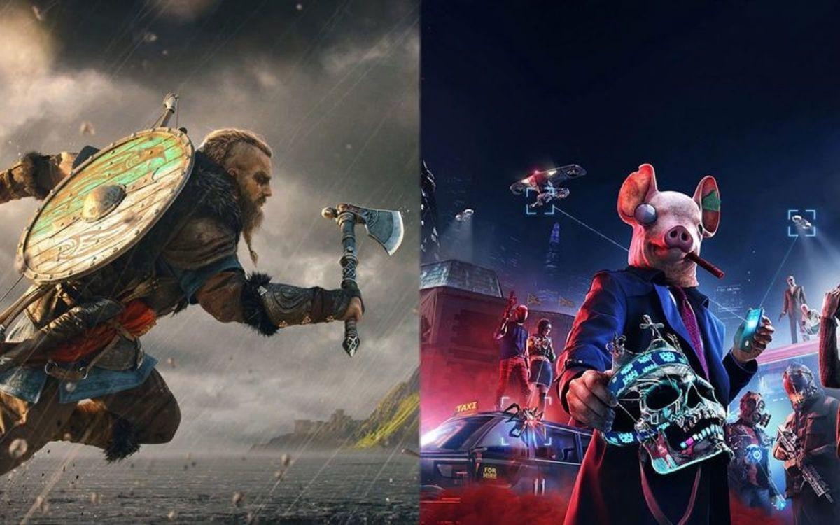 Watch Dogs Legion Assassin's Creed Valhalla