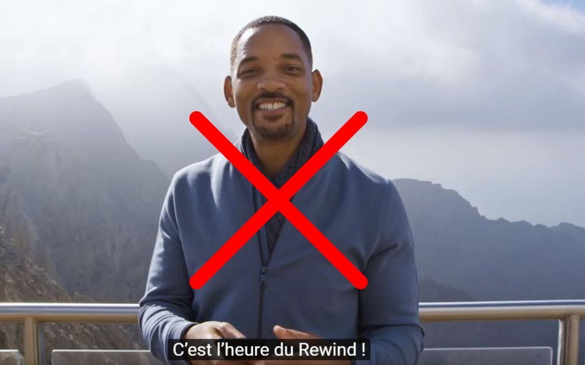 YouTube Pas de Rewind en 2020