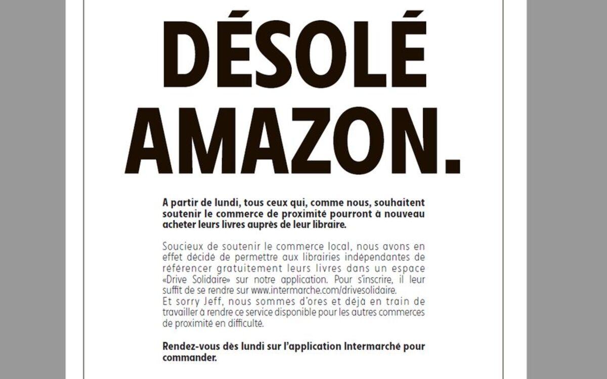 Intermarché tacle Amazon et lance un « drive solidaire » pour les petits commerçants