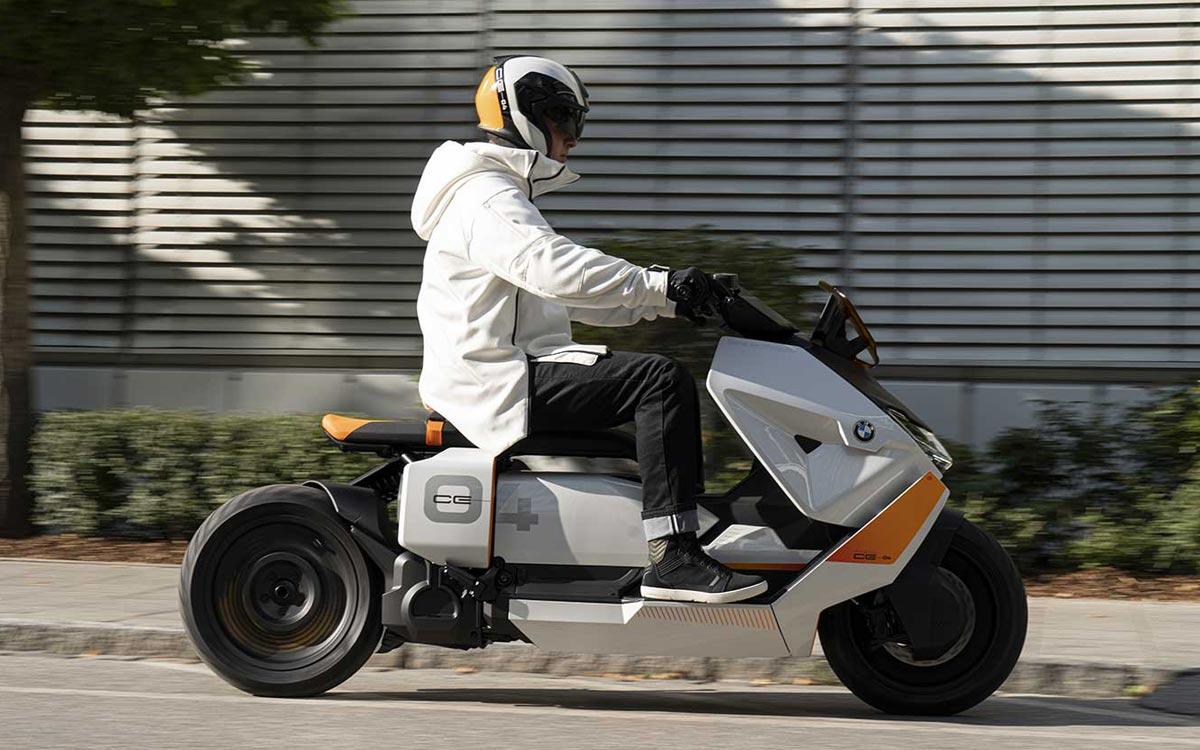 BMW CE04 scooter électrique