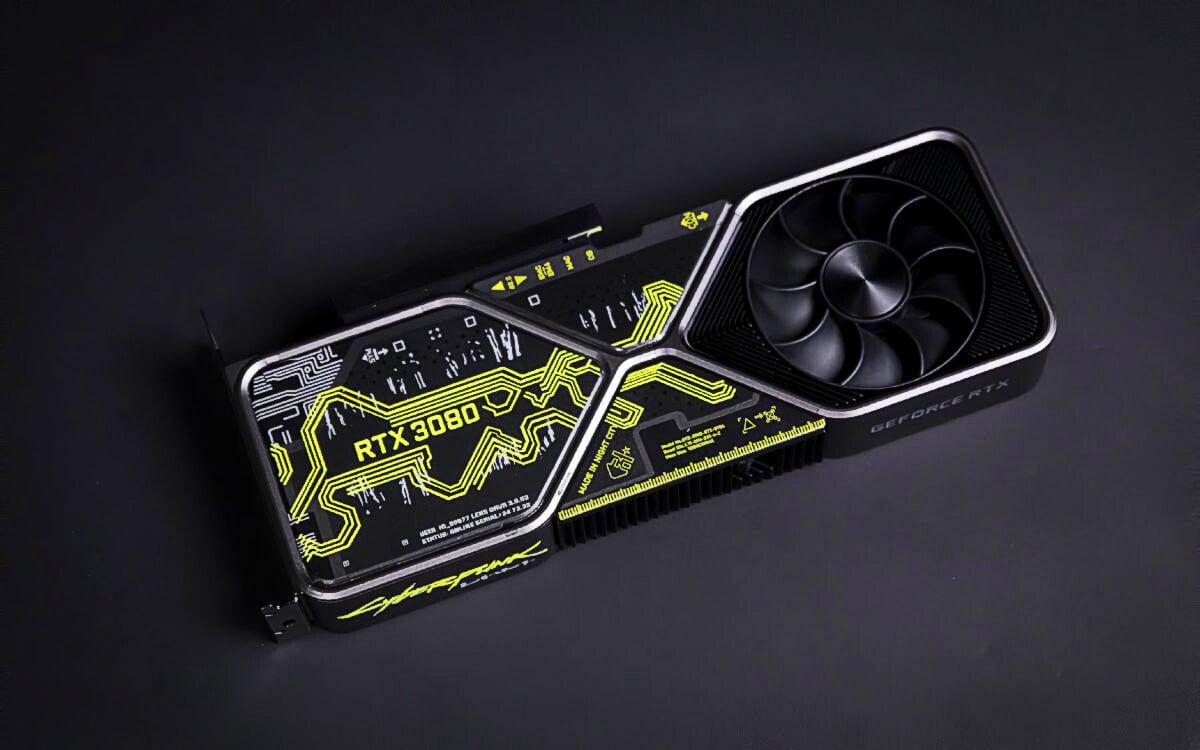 Cyberpunk 2077 : une Nvidia RTX 3080 en édition ultra-limitée