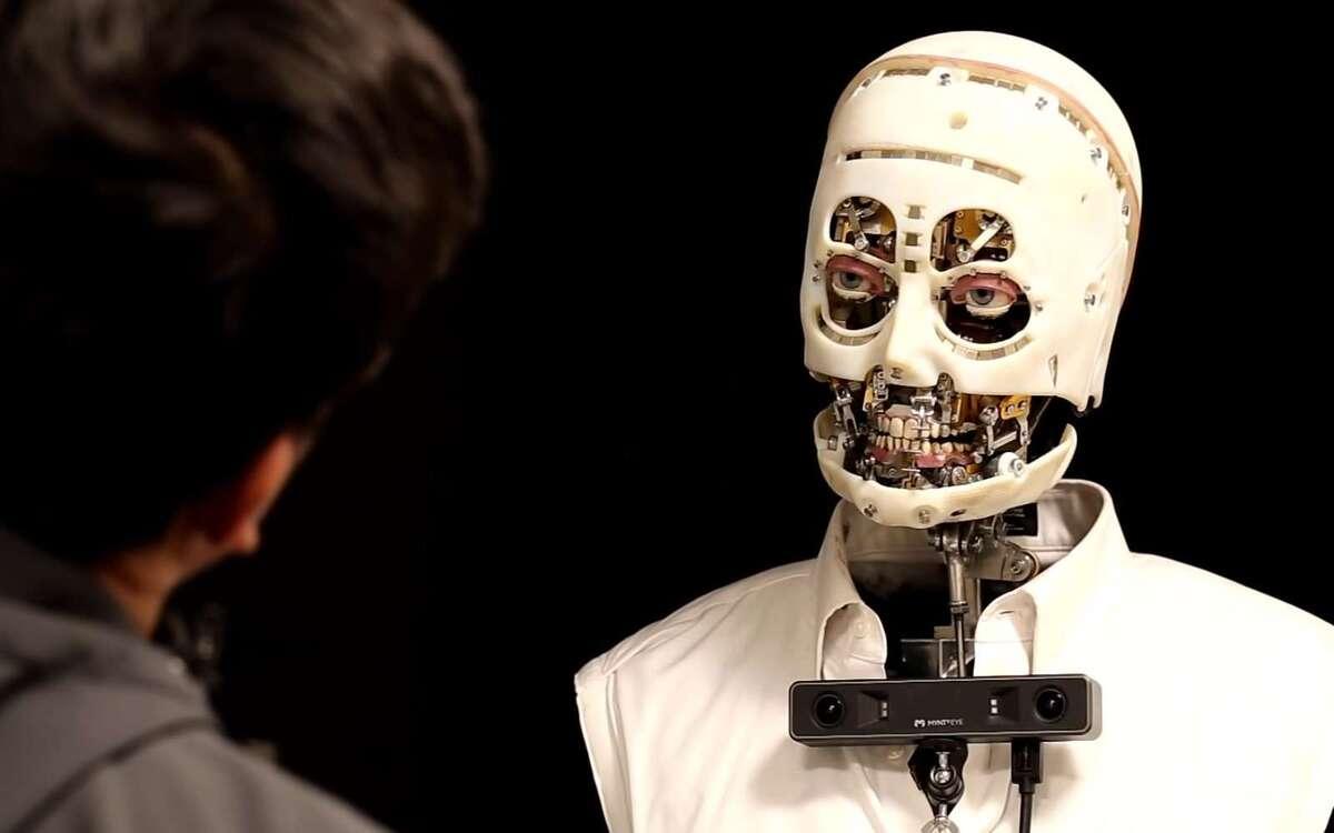 Gaze, le robot de Disney yeux plus vrais que nature