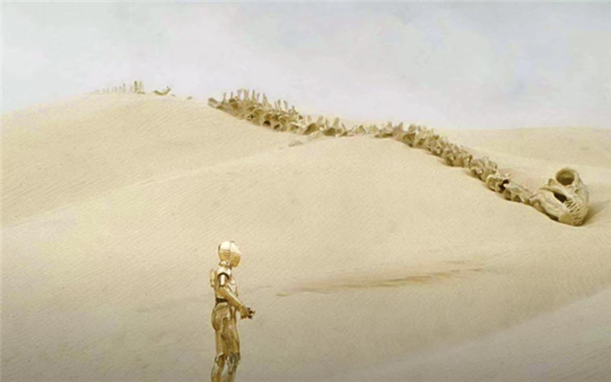 Dradon Krayt désert