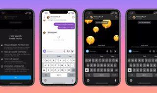 Facebook Messenger et Instagram lancent les messages éphémères