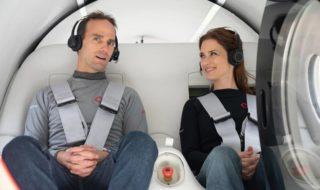 Hyperloop : le train du futur passe son premier test avec des passagers à bord