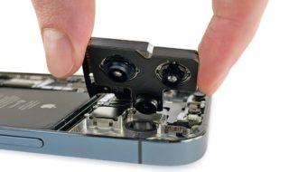 IPhone 12 Pro Max : son démontage par iFixit révèle un capteur photo impressionnant