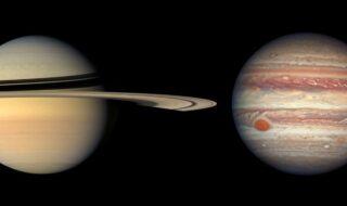 En décembre, Jupiter et Saturne n'auront jamais été aussi proches depuis 800 ans