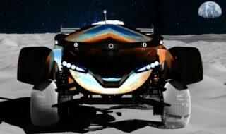 Course de voitures télécommandées sur la Lune