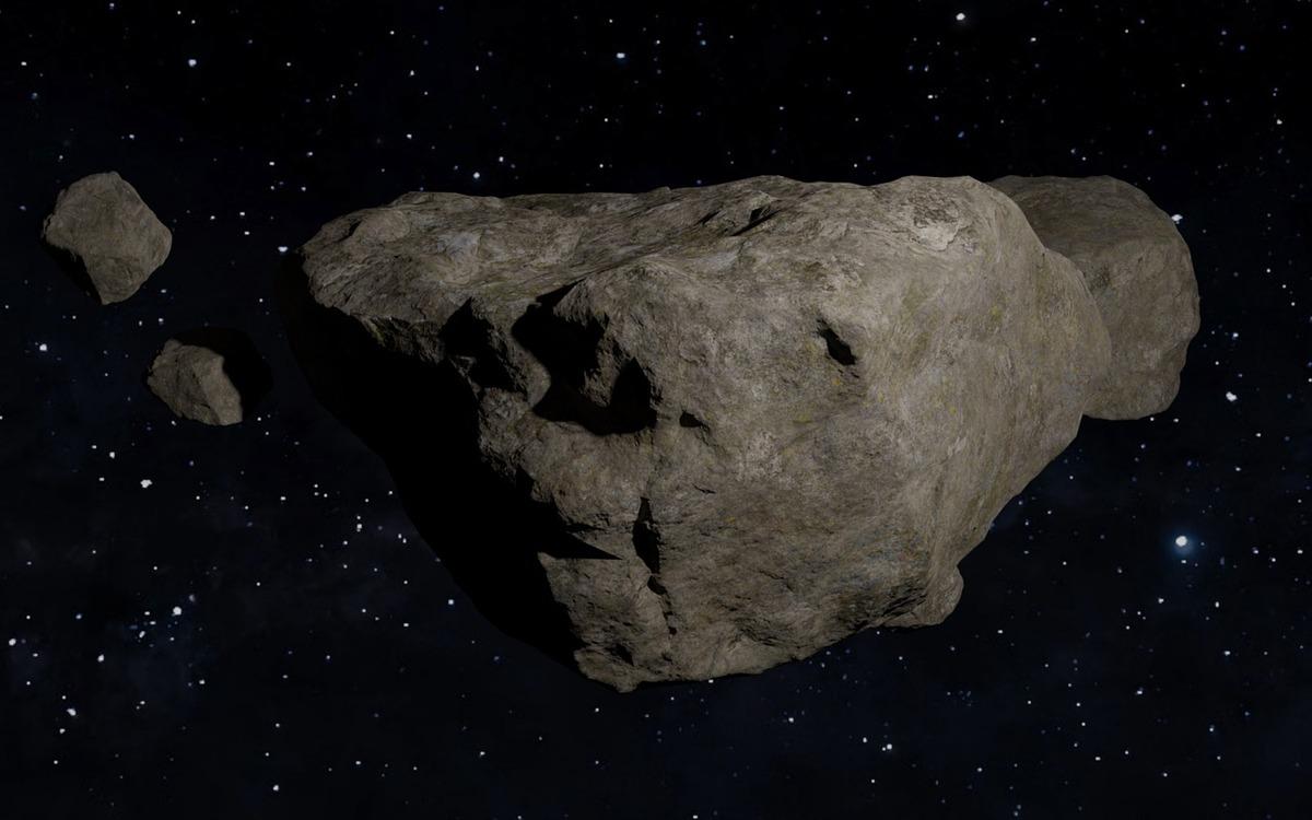 Une météorite tombe sur sa maison