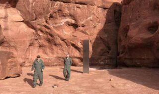 USA : mystère ! Découverte d'un monolithe façon Kubrick dans le désert