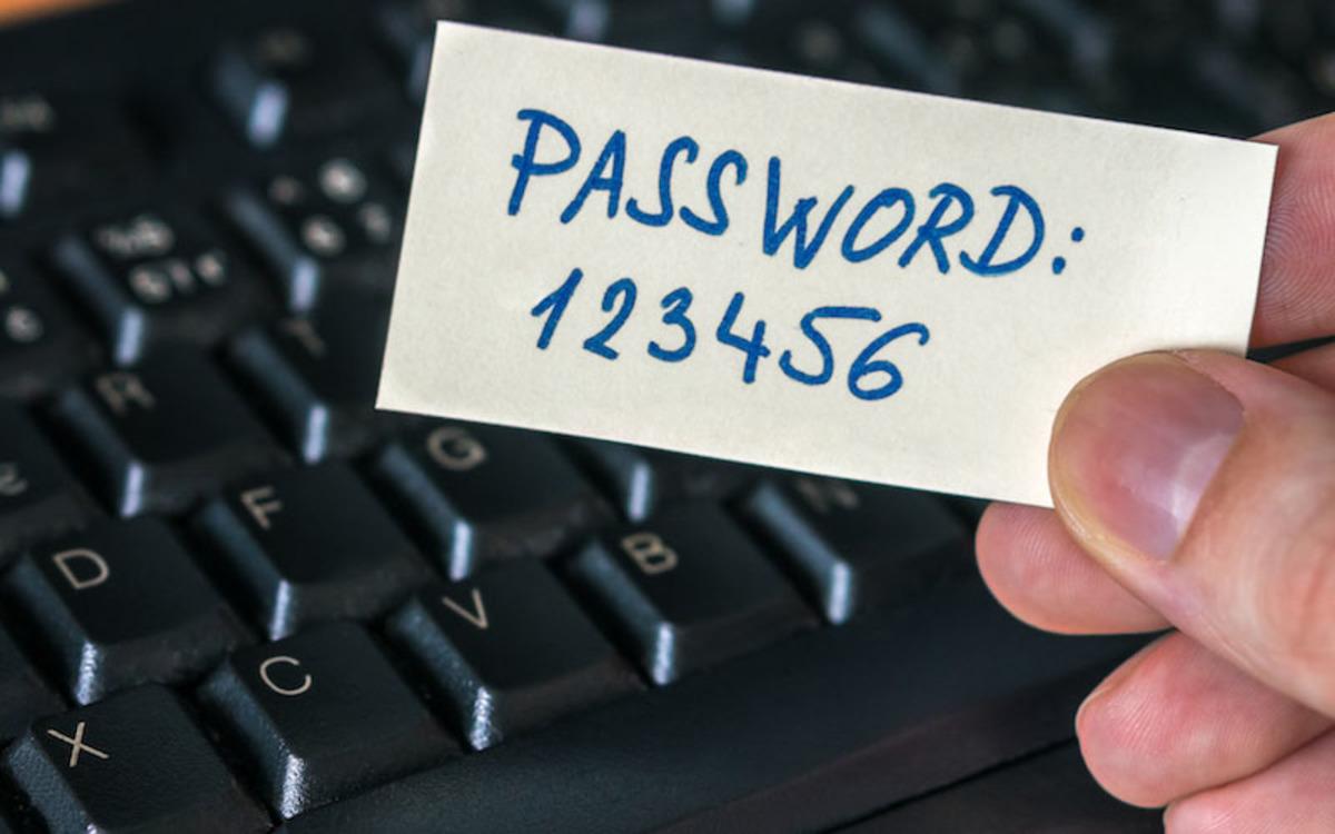 Les mots de passe les plus utilisés en 2020