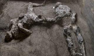 Éruption du Vésuve : les restes de deux victimes découverts à Pompéi