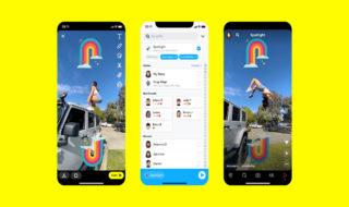 Snapchat lance Spotlight, un fil public de vidéos façon TikTok