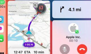 Waze est enfin compatile avec le tableau de bord de CarPlay après Google Maps