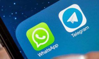 WhatsApp et Telegram