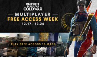 Call of Duty Black Ops Cold War : le mode multijoueur gratuit jusqu'au 24 décembre