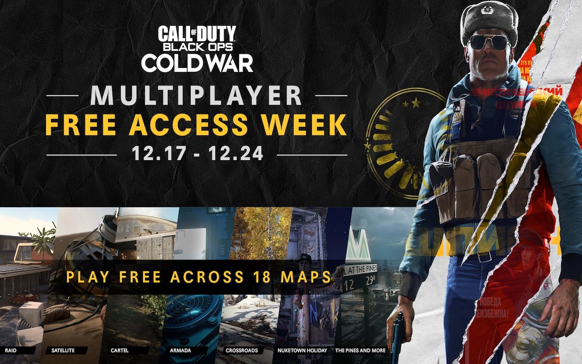 Call of Duty Black Ops Cold War semaine gratuite