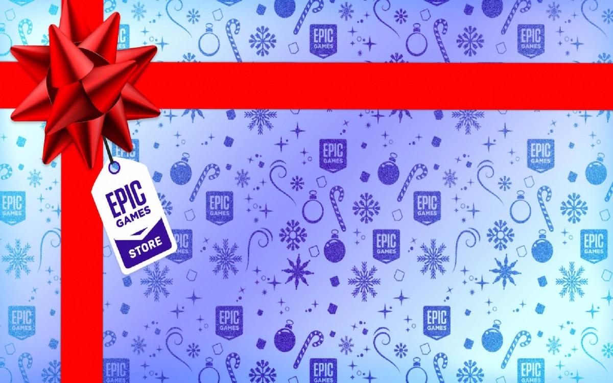 Epic Games Store cadeaux Noel