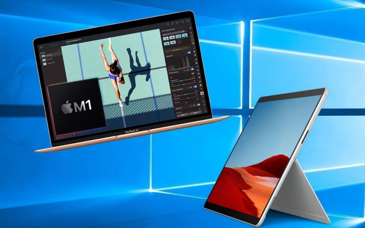 MacBook Air M1 vs Microsoft Surface Pro X