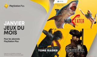 PlayStation Plus janvier 2021 : les jeux PS5 et PS4 gratuits du mois