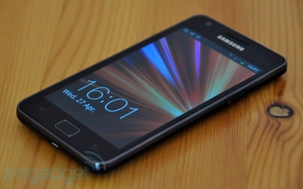 Samsung Galaxy SII Android 11