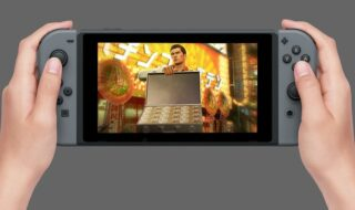 Yakuza sur Nintendo Switch