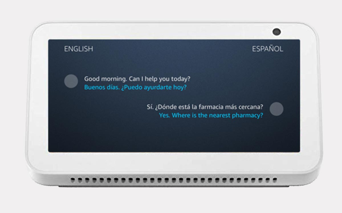 Amazon Alexa : traduction