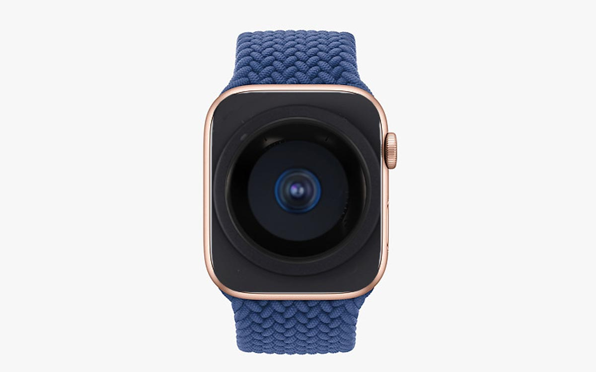 Apple Watch caméra Touch ID
