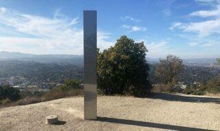 Un nouveau monolithe découvert en Californie