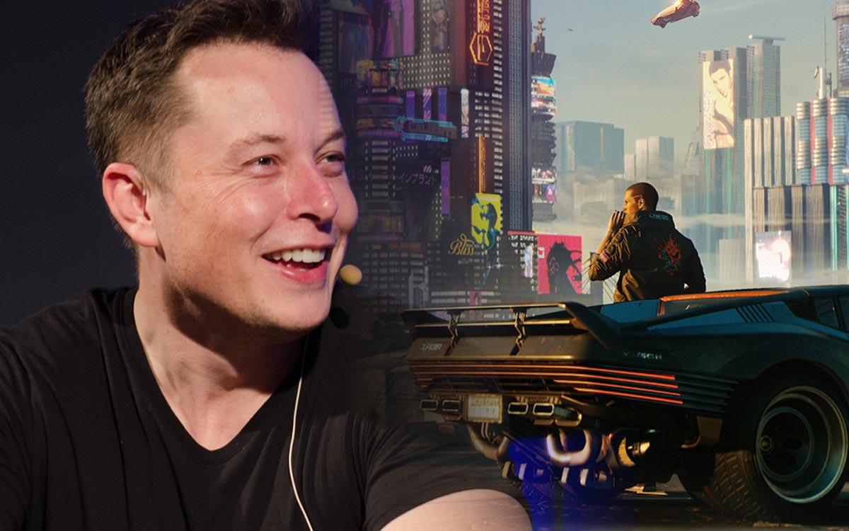 Elon Musk se moque de Cyberpunk 2077
