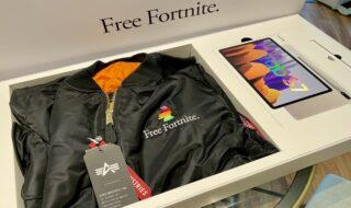 Un pack Fortnite / Samsung