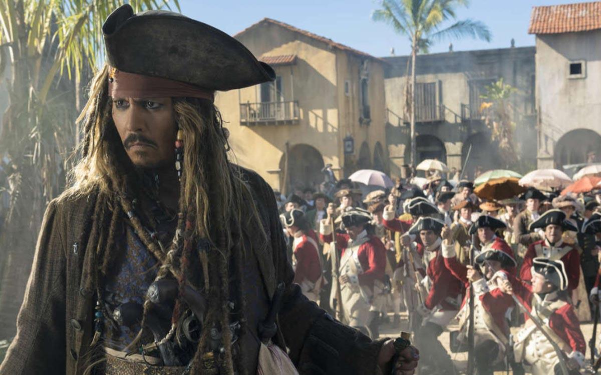 Pirates des Caraïbes 6 Johnny Depp