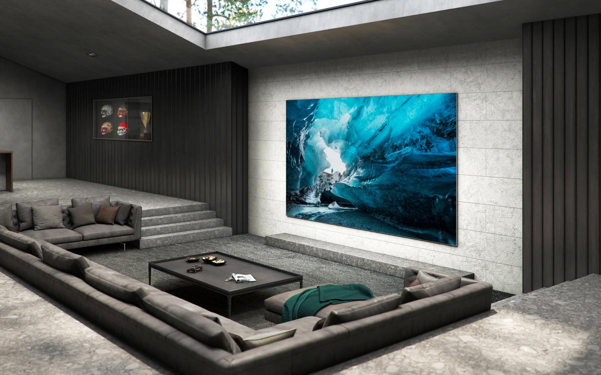 Samsung MicroLED 4k 110 pouces