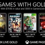 Xbox Games With Gold : janvier 2021