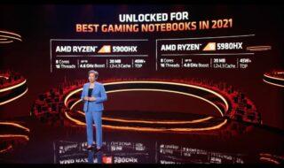 AMD Ryzen 5000 : la déclinaison des CPU pour ordinateurs portables dévoilés
