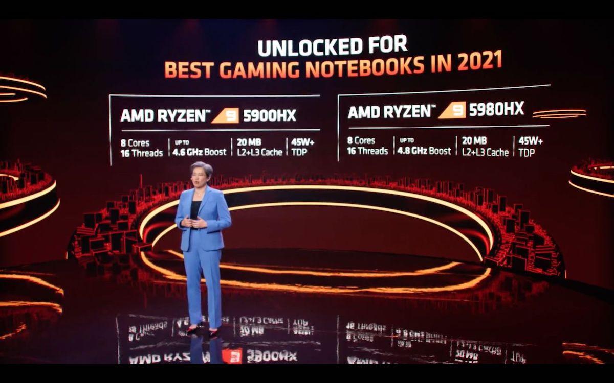AMD Ryzen 5000 mobile