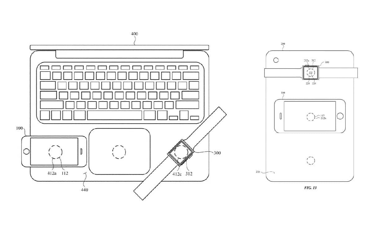 Apple brevet MacBook sans fil recharge MagSafe