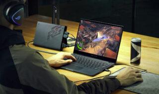 CES 2021 : Asus lance le ROG Flow X13, un PC gamer avec une carte graphique externe