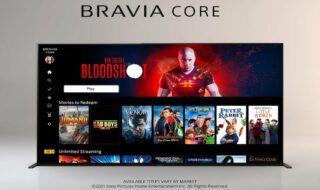 Sony : lancement de Bravia Core, une plateforme de streaming en 4K UHD très exclusive