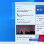Build 21286 Windows 10 widget