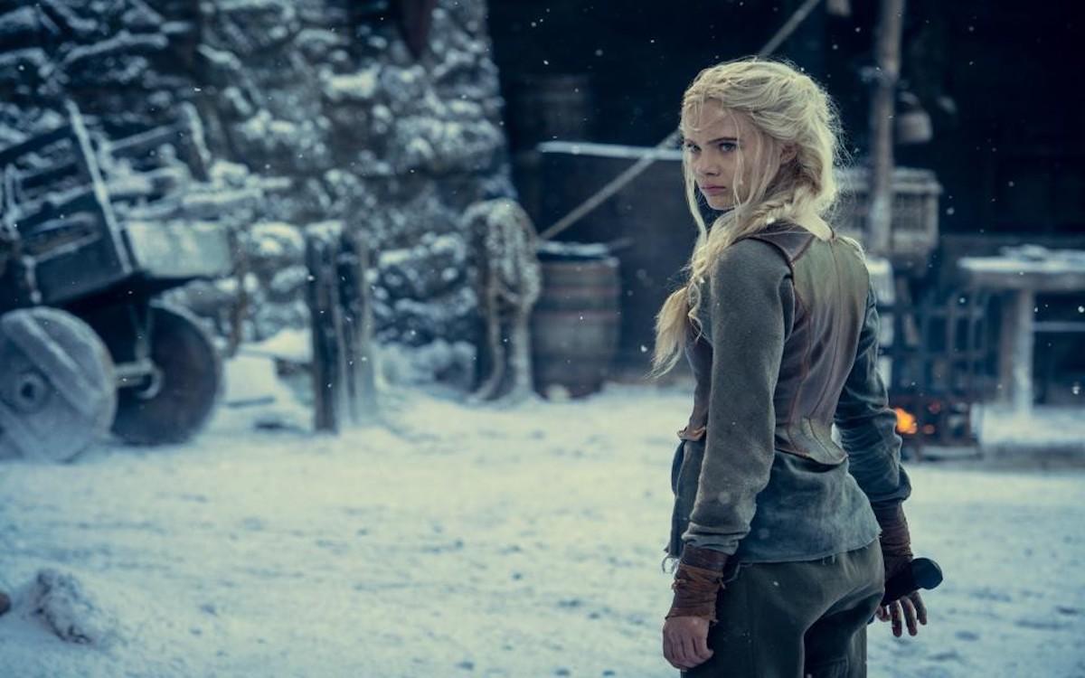 Ciri Witcher saison 2